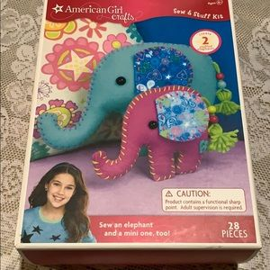 American girls crafts sew &stuff kits